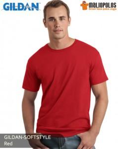 jogja-gildan-softstyle-red
